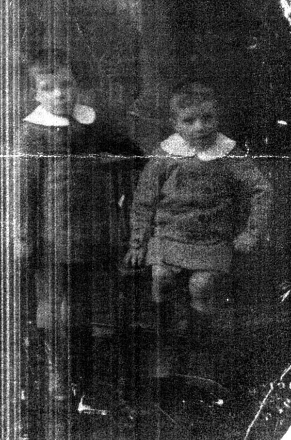 Family Portrait of Two Brothers 1923