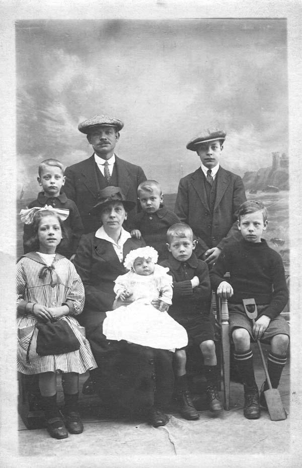 Family Studio Portrait c.1922