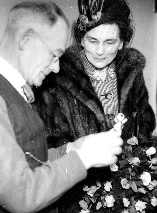 Man Giving Demonstration Of Toy Making To Duchess c.1943