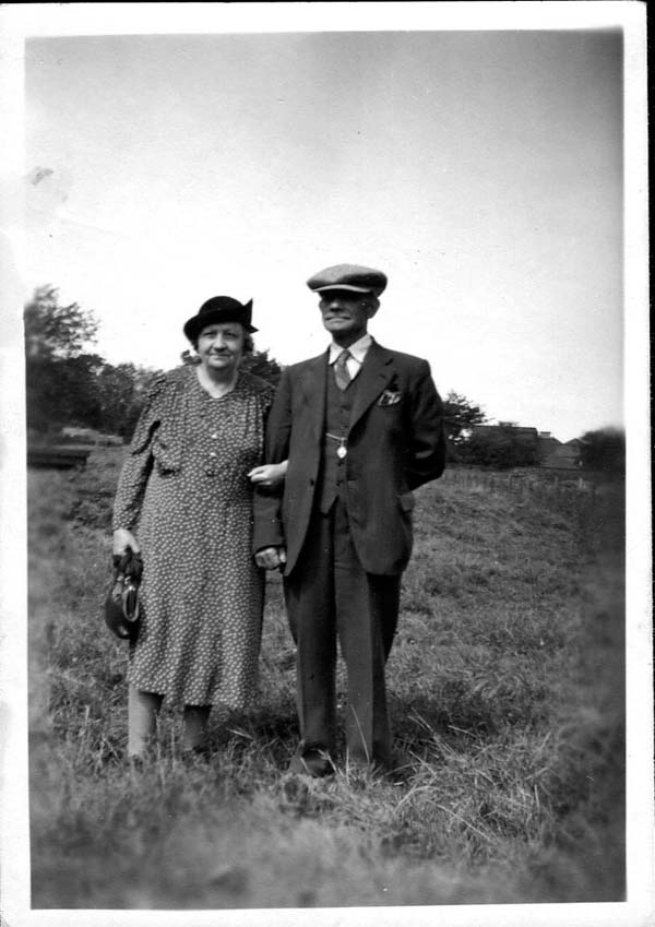 Couple Out For Walk 1949