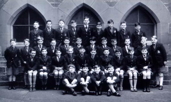 James Gillespie Primary School Class Portrait 1950s