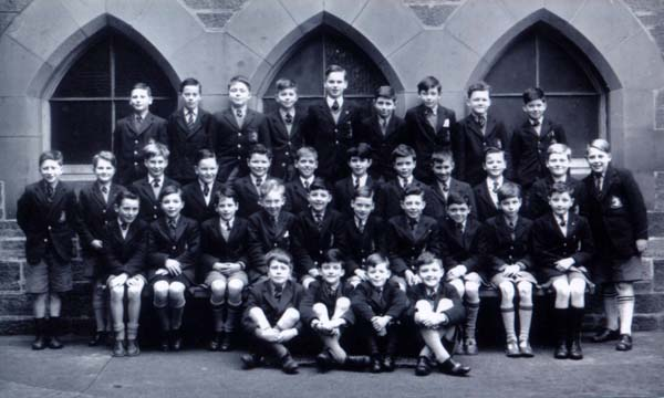 James Gillespie Primary School Class Portrait 1950s