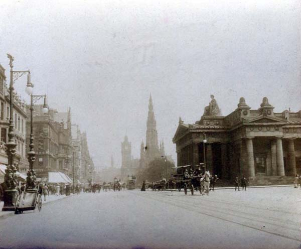 Princes Street Looking East c.1890