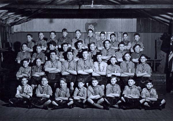 8th Leith Scouts 1940s