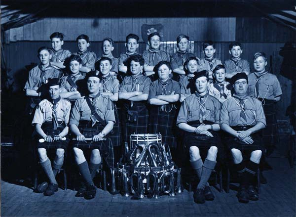 8th Leith Scouts Bugle Band 1940s