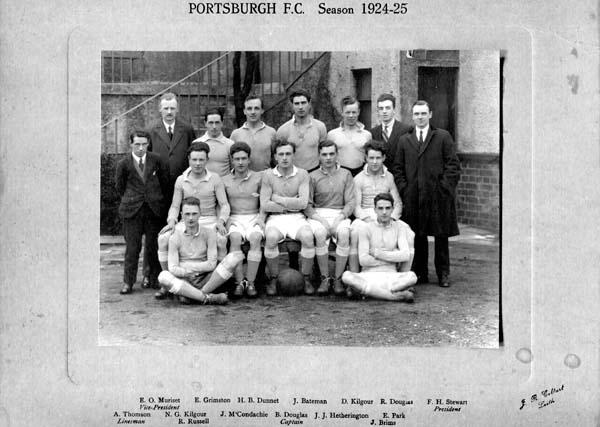 Portsburgh Football Club Team 1924