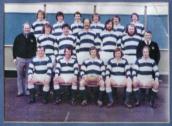 Leith Academicals Rugby Football Club Team 1975
