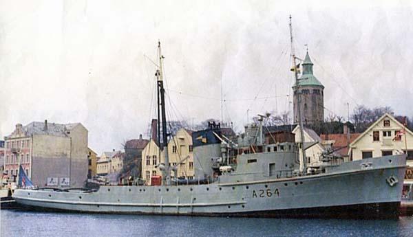 HMS Reward c.1976