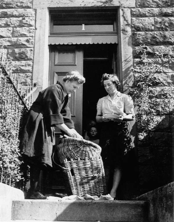 Fisherrow Fishwife Margaret Fairnie 1950s