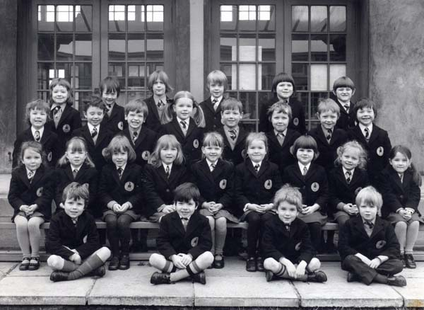 Wardie Primary School Class Portrait 1977