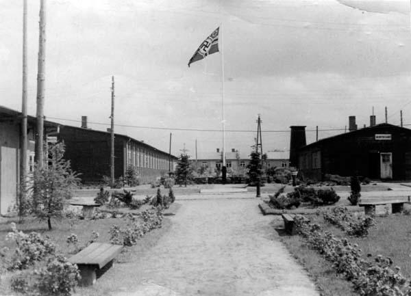 German Prisoner Of War Camp 1940s