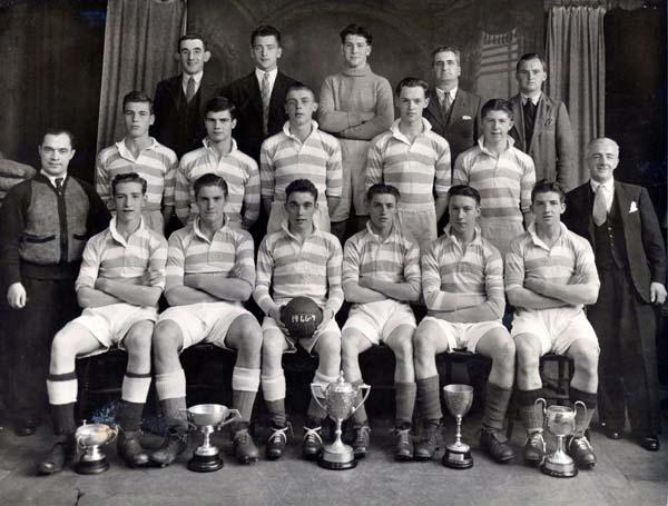 Broughton Star Football Club 1946-47