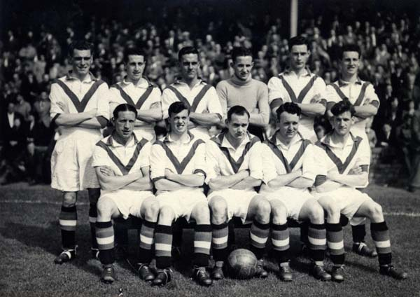 Airdrie Football Club Team 1951