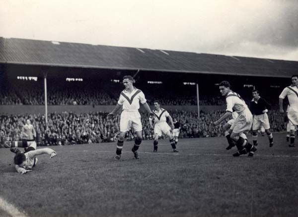 Hearts v Airdrie 1951