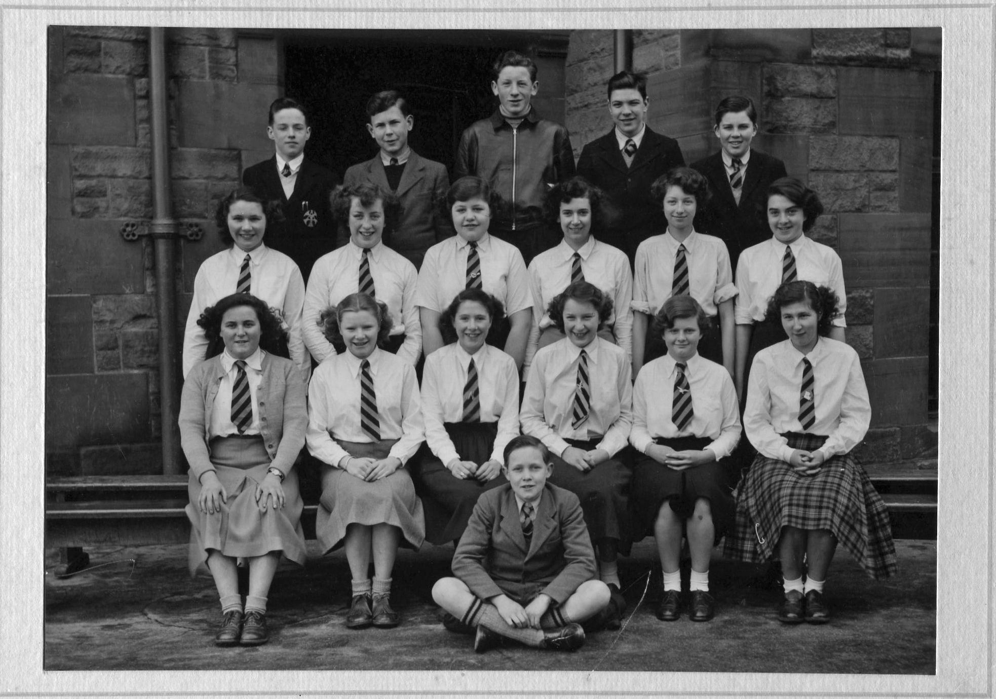 Trinity Academy Class Portrait 1948/49