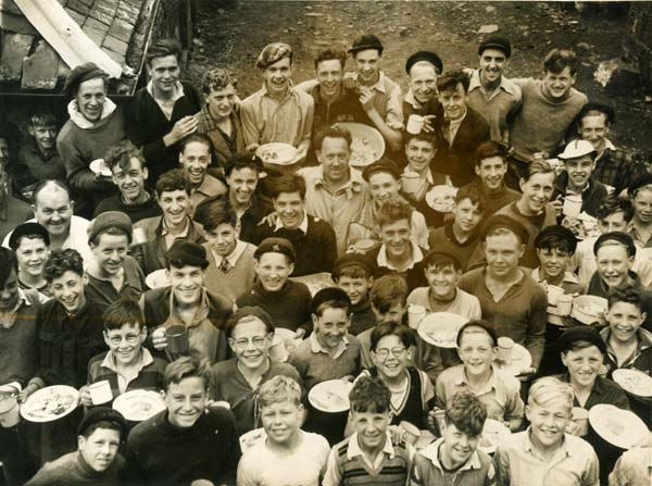 1st Leith Boys Brigade At Camp 1948