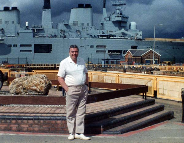On Holiday Visiting The Naval Dockyard At Portsmouth 1978