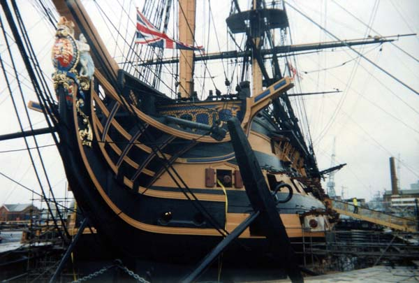 HMS Victory 1978
