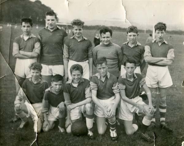 David Kilpatrick Scondary School Football Team 1960