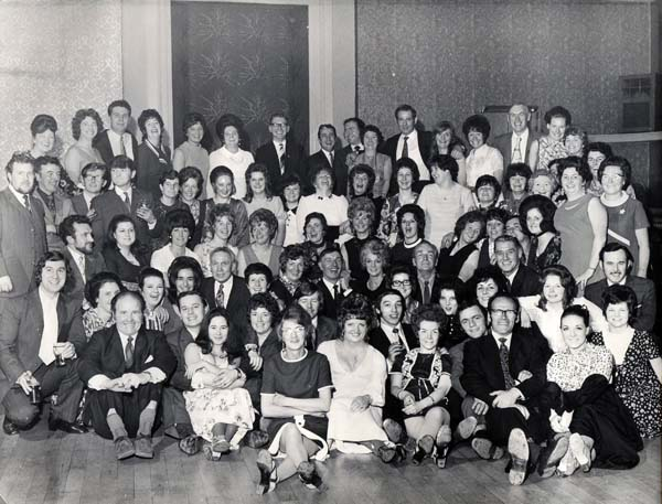 Munrospun Knitwear Annual Staff Dance At Leith Assembly Room c.1970