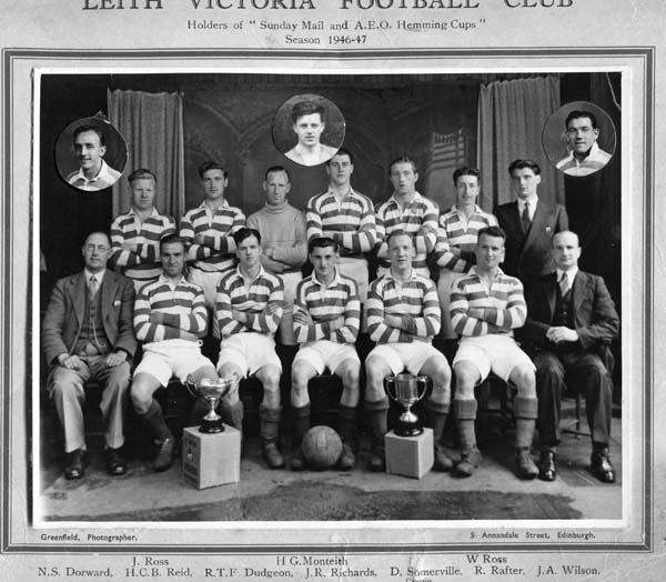 Leith Victoria Football Club Team 1946-47