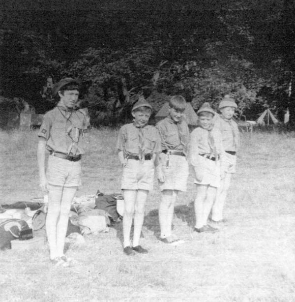 8th Leith Scouts At Camp 1960s