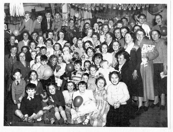 Work's Do Children's Christmas Party 1950s