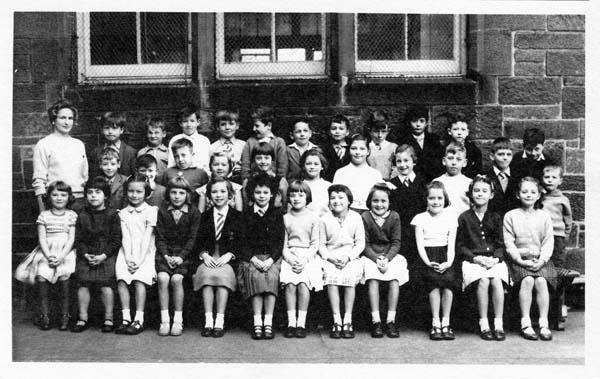 Fort Street Primary School Class Portrait c.1957