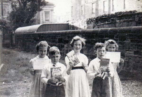 Fort Street Primary School Prizewinners 1950s