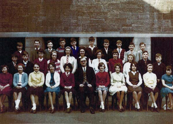 Fort Street Primary School Class Portrait c.1960