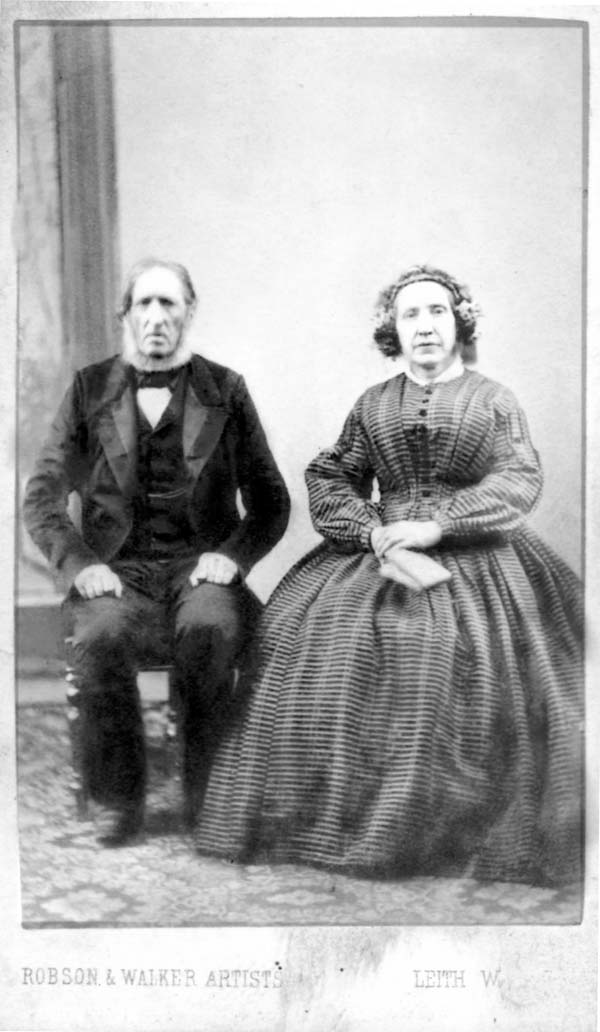 Studio Portrait Victorian Couple 1890s