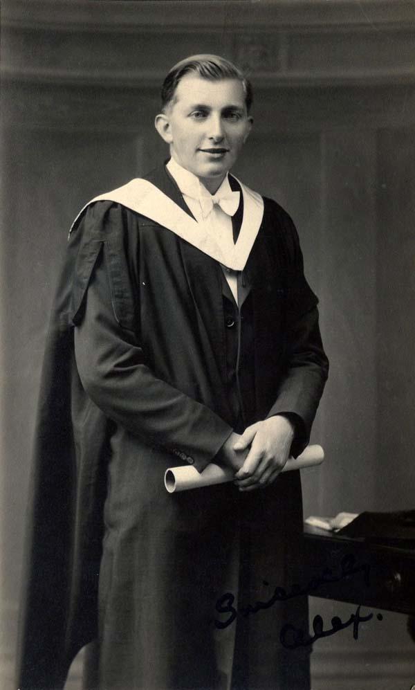 Student On Graduation Day 1930s