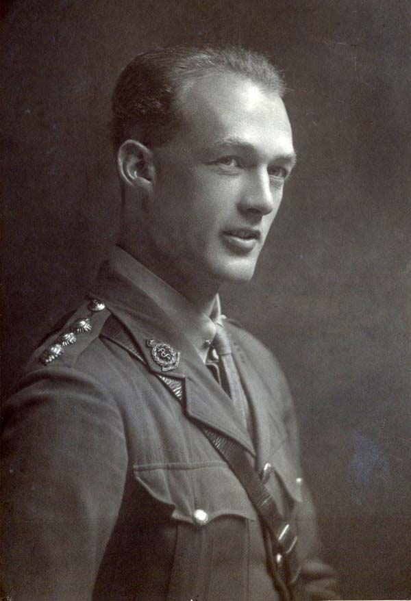 Studio Portrait Royal Army Medical Corps Officer 1940s
