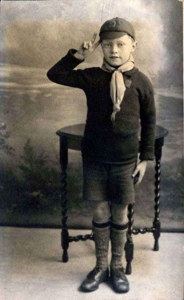 Studio Portrait Boy Scout , 24 April 1931