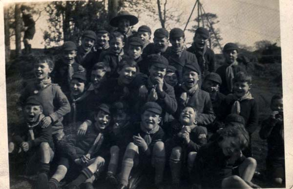 Pack Of Cub Scouts 1930s