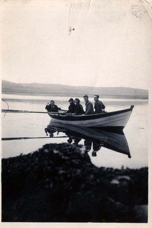 A Trip Out On The Loch 1930s