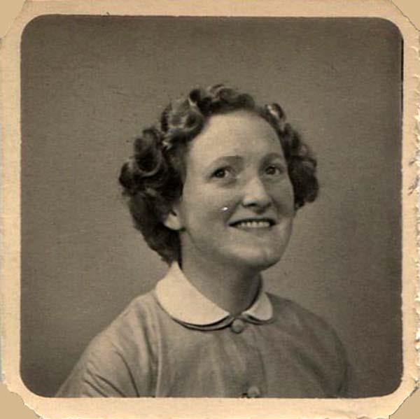 Studio Portrait Young Woman1930s