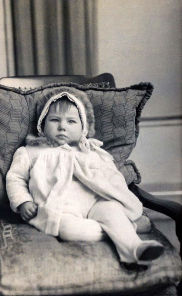 Studio Portrait Young Child, 5 Dec 1937