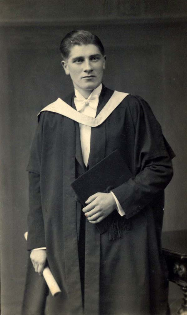 Student On Graduation Day 1930s