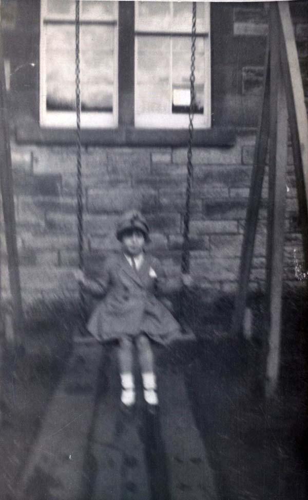 Girl On A Swing 1930s
