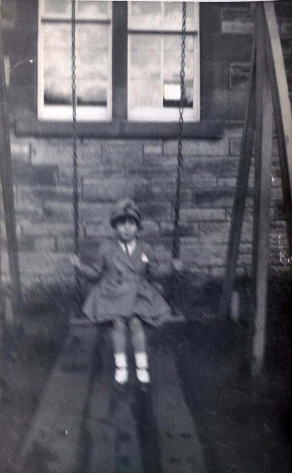 Girl On A Swing 1930s