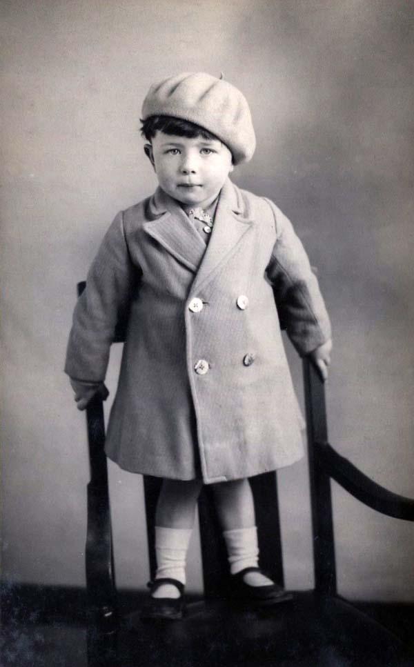 Studio Portrait Young Child, 3 June 1934