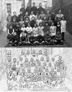 Class Photo, James Clark Primary School
