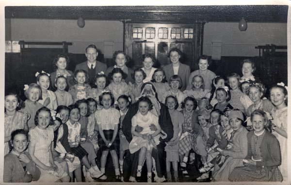 St Paul's Sunday School Christmas Party 1951