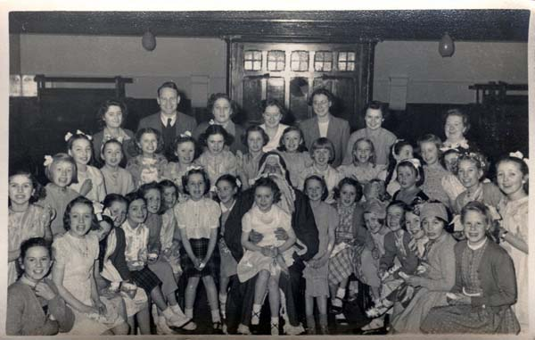 St Paul's Sunday School Christmas Party 1951