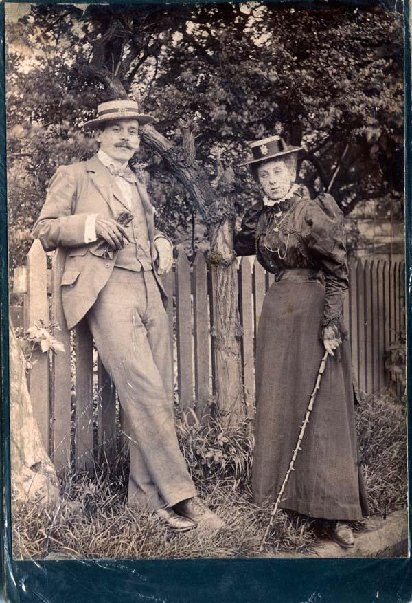 Fin de Siecle Couple c.1900