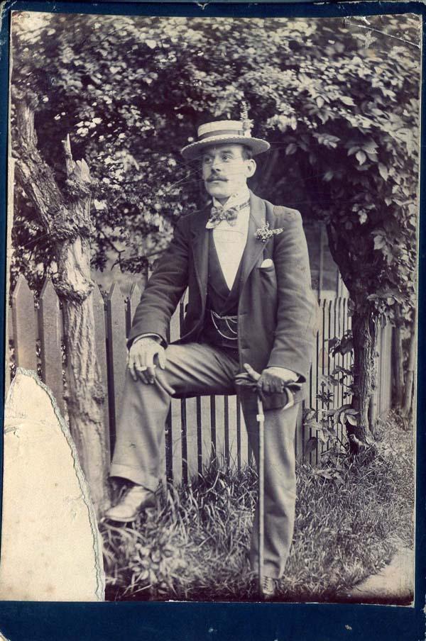 Fin de Siecle Gentleman c.1900
