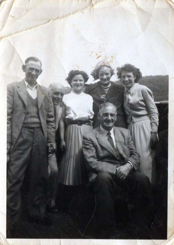 Employees Of McDonald & Muir On Works Picnic, early 1950s