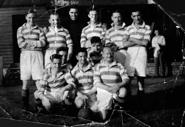 Unidentified  Leith Football Team 1940s
