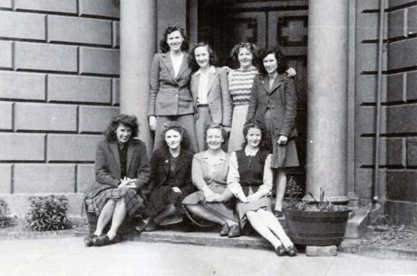 Office Staff Of Woods' Bottle Works c.1948